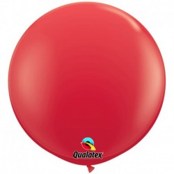 Pallone Qualatex Red 80 cm