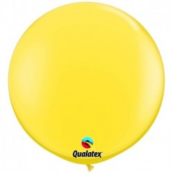 Pallone Qualatex Yellow 80 cm
