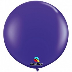 Pallone Qualatex Quartz Purple 80 cm