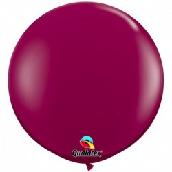 Pallone Qualatex Sparkling Burgundy 80 cm