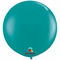 Pallone Qualatex Jewel Teal 80 cm