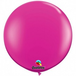 Pallone Qualatex Jewel Magenta 80 cm