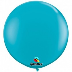 Pallone Qualatex Tropical Teal 80 cm