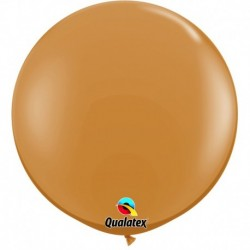 Pallone Qualatex Mocha Brown 80 cm