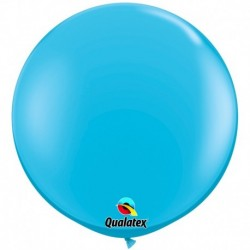 Pallone Qualatex Robin's Egg Blue 80 cm
