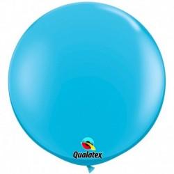 Pallone Qualatex Robin's Egg Blue 80 cm