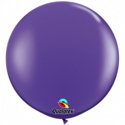 Pallone Qualatex Purple Violet 80 cm