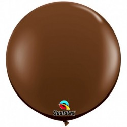 Pallone Qualatex Chocolate Brown 80 cm