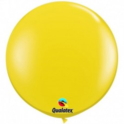 Pallone Qualatex Citrine Yellow 80 cm