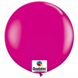 Pallone Qualatex Wild Berry 80 cm