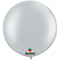 Pallone Qualatex Silver 80 cm