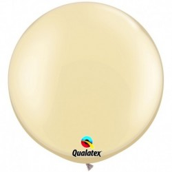 Pallone Qualatex Pearl Ivory 80 cm