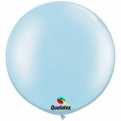 Pallone Qualatex Pearl Light Blue 80 cm