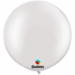 Pallone Qualatex Pearl White 80 cm