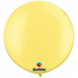 Pallone Qualatex Pearl Lemon 80 cm