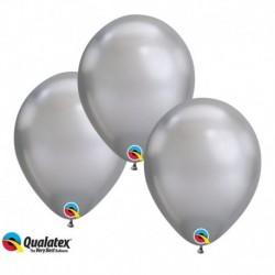 Palloncini Chrome Silver 30 cm