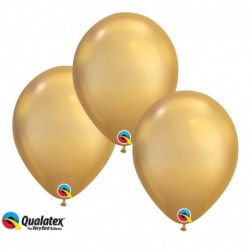 Palloncini Chrome Gold 30 cm