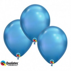Palloncini Chrome Blue 30 cm