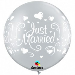 Pallone Just Married 80 cm