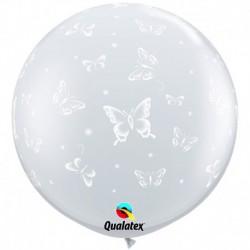 Pallone Farfalle 80 cm