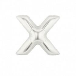 Pallone Lettera X Argento 20 cm