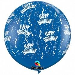 Pallone Happy Birthday 80 cm