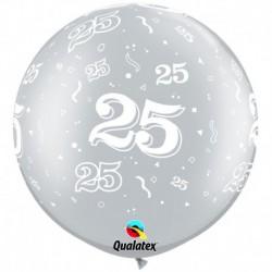 Pallone 25 Anniversario 80 cm