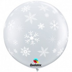 Pallone Fiocchi di Neve 80 cm