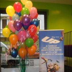Decorazione Bouquet Palloncini Multicolore