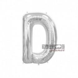 Pallone Lettera D Argento 40 cm