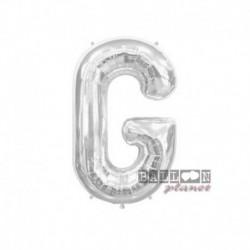 Pallone Lettera G Argento 40 cm