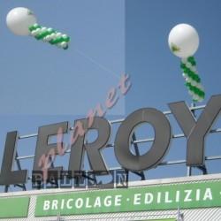 Decorazione Inaugurazione Leroy Merlin