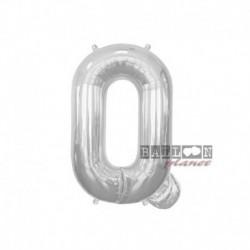 Pallone Lettera Q Argento 40 cm