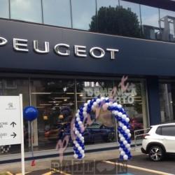 Decorazione Inaugurazione Peugeot