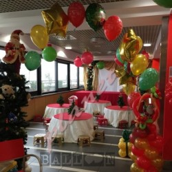 Decorazione Stars Gold e Red