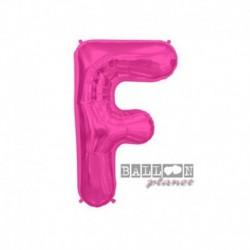 Pallone Lettera F Fucsia 40 cm