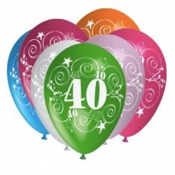 Palloncini 40 Anni Compleanno 30 cm