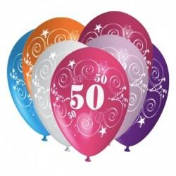 Palloncini 50 Anni Compleanno 30 cm