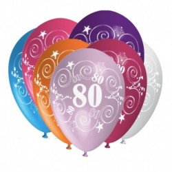Palloncini 80 Anni Compleanno 30 cm