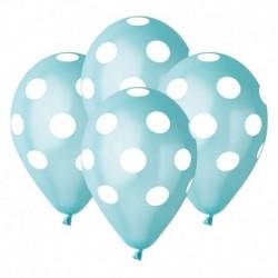 Palloncini Pois Tiffany 30 cm