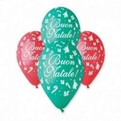 Palloncini Buon Natale 30 cm