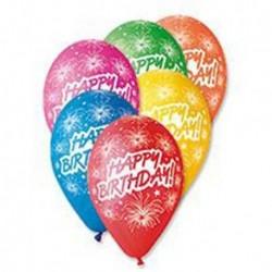 Palloncini Happy Birthday 30 cm