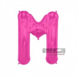 Pallone Lettera M Fucsia 40 cm