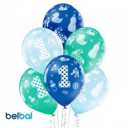 Palloncini Primo Compleanno 30 cm