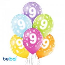 Palloncini Nono Compleanno 30 cm
