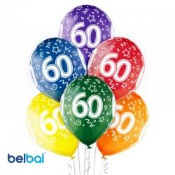 Palloncini 60 Anni Compleanno 30 cm