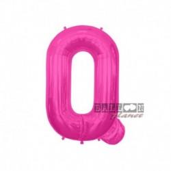 Pallone Lettera Q Fucsia 40 cm