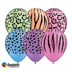 Palloncini Safari Neon 30 cm