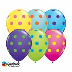 Palloncini Pois Color 30 cm