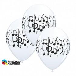 Palloncini Note Musicali 30 cm